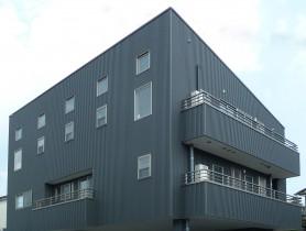 3階建ての住宅